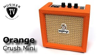 Orange Crush Mini - Review