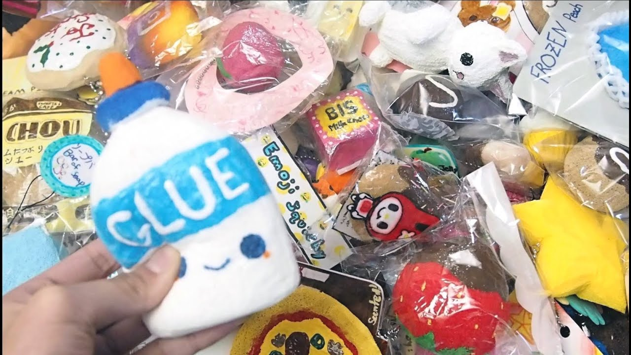 Squishy Collection 2017 : 2017 Homemade Squishy Collection!!! - YouTube