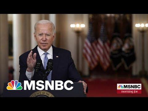 President Biden Faces Backlash For Afghanistan Withdrawal