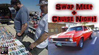 Automotive Swap Meet and Sunday Night Cruising | Rob's TT LS Nova gets into BOOST on the Street thumbnail