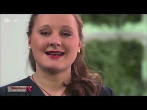 Kuchenschlacht Im Zdf Mit Sidney Schlange Februar 2015 Youtube