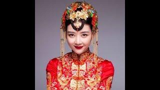 Красивые китайские девушки. Китайский костюм.