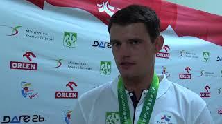 Filip Broniszewski - brązowy medalista w szpadzie mężczyzn
