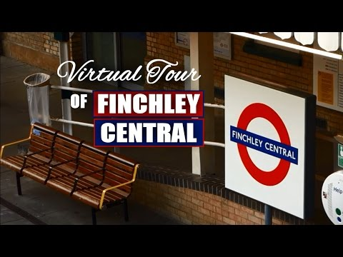 View of Finchley Central - North London suburb