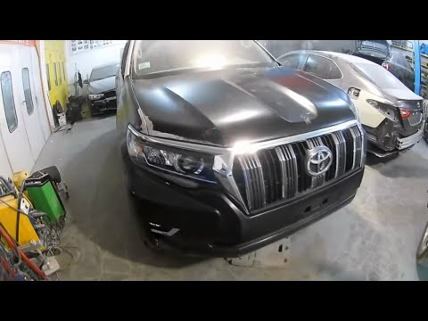 Toyota Land Cruiser Prado 150 Кузовной ремонт в Армении/Body Repair In Armenia