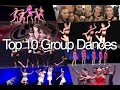 top 10 dance moms group dances