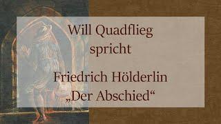 """Friedrich Hölderlin – """"Der Abschied"""" (1798/1800)"""