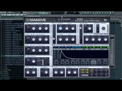 STAB used in EPIC, LRAD, Cannonball etc 007 - Sound Design Tutorial in Massive