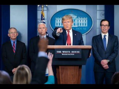 White House Press Briefing on the Coronavirus - 5:00 PM