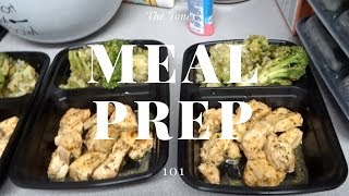CHRIS AND I MEAL PREP | EASY AND SIMPLE