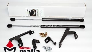 Упоры (амортизаторы) капота Mitsubishi Outlander 3 (Митсубиси Аутлендер 3)