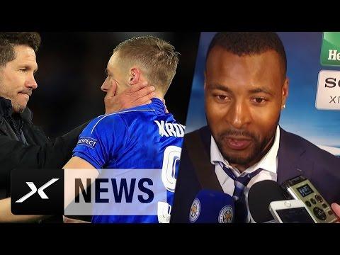 "Wes Morgan zu Leicester-Märchen: ""Das Allergrößte"" | Leicester City - Atletico Madrid 1:1"