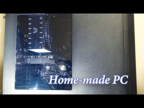 自作パソコン Windows10セットアップ 完成までの一連の作業
