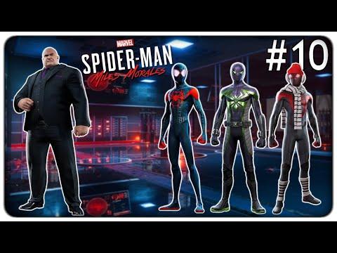 SCOPRIAMO 3 NUOVI COSTUMI SEGRETI E FERMIAMO I PIANI DI KINGPIN | Spider-Man Miles Morales - ep. 10