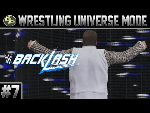 WWE 2K17 Universe Mode | BACKLASH | #7 | Indianapolis, IN