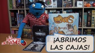Abrimos... Dungeons & Darkrooms, Cats y Ambar (Unboxing)
