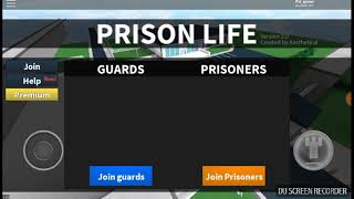 I went to jail in Roblox