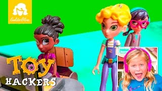 "Goldie Blox Toy Hackers Series Featuring the Assistant Episode 1 ""Big Sister"""