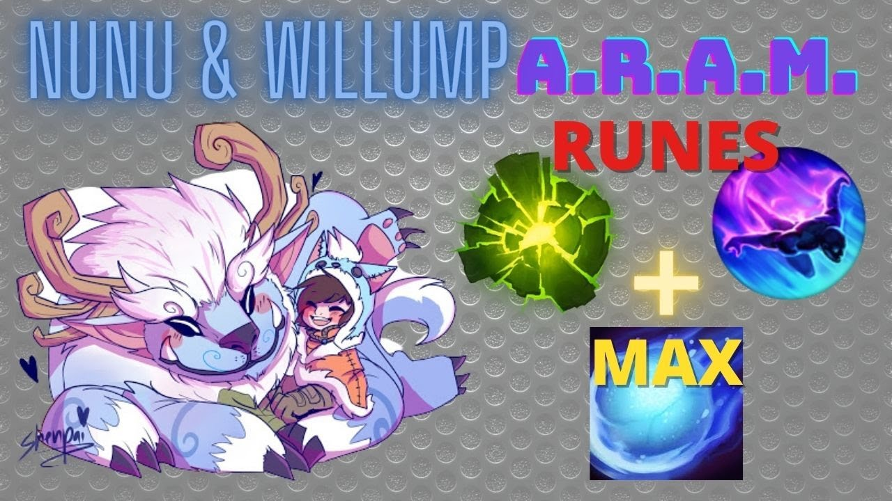 Nunu And Willump Aram League Of Legends Nunu And Willump Best Guide And Item Build To Make Enemy Sur Youtube Best on veigar last 7 day performance. youtube