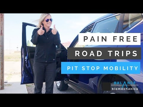 Pain-Free Road Trip: pit stop mobility routine