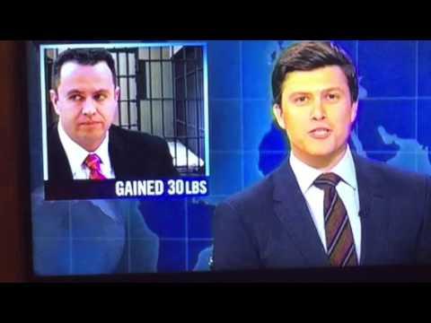 Jared Fogle Gained 30 LBS SNL Saturday Night Live Joke Was Painful
