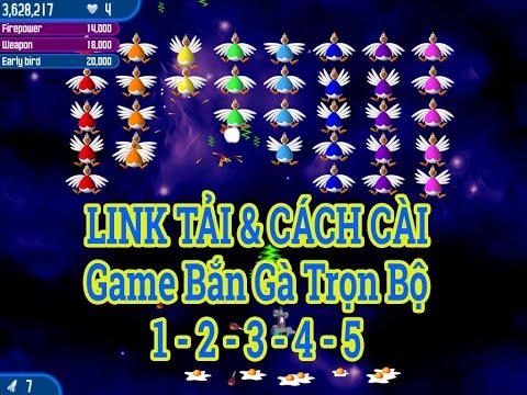 Cách Tải và Cài Game Bắn Gà Chicken Invaders 1 2 3 4 5   Link Tải Game Bắn Gà 1 2 3 4 5 Full 2020