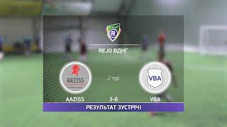 Обзор матча Aaziss VBA Турнир по мини футболу в Киеве
