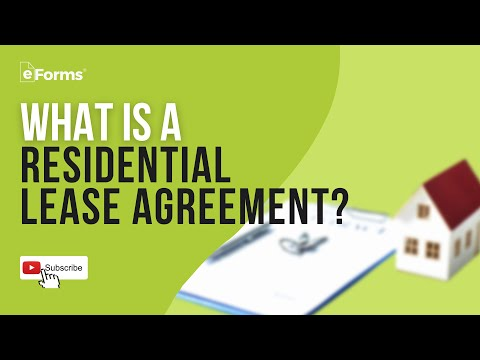 Residential Lease Agreement - EXPLAINED