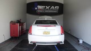 """Texas Speed & Performance CTS-V 2"""" 304 Stainless Steel Long Tube Headers and 3"""" Off-Road X-Pipe"""