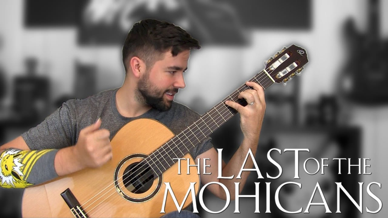 Download THE LAST OF THE MOHICANS: Promentory - Classical Guitar Cover