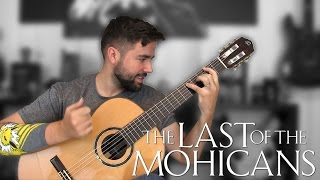 Gambar cover THE LAST OF THE MOHICANS: Promentory - Classical Guitar Cover