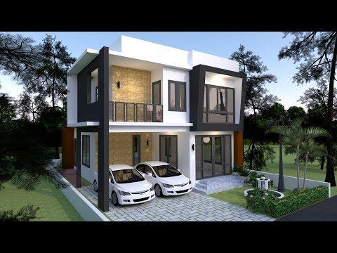 4 bedroom house design ideas - House design ideas | naant91