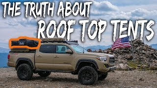 The TRUTH about ROOF-TOP TENT Camping - (watch before you buy, pros and cons) Tacoma Overland thumbnail