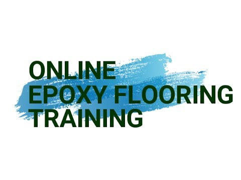 Epoxy flooring Training Course (2018) - Learn all about our online program