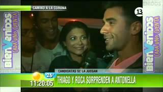 Sebastian Roca y Thiago en las campañas de Dominique Gallego y Antonella Rios