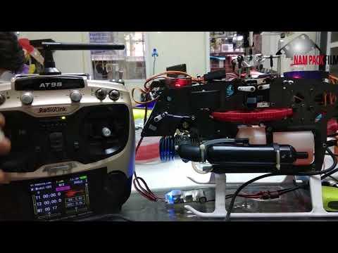 Radio Link AT9 setup heli nitro - Heli GH 480 Nitro Gleagle