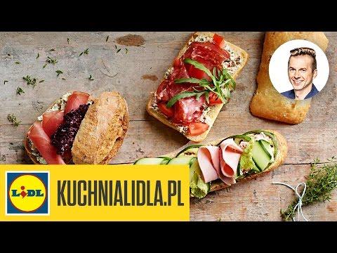 Kanapki Karola Okrasy Karol Okrasa Przepisy Kuchni Lidla