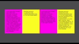 Responsive Equal Height Columns using Css only - Css Tutorial