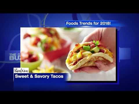 2018 Popular Food Trends