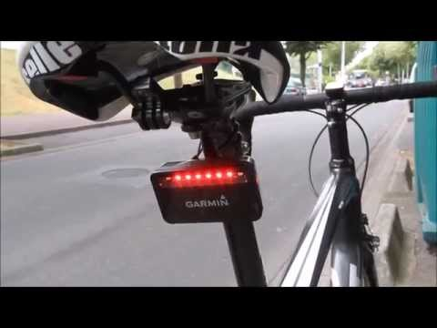 Hands-on Garmin Varia Bike Radar System