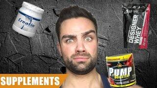 Kein Geld? - Diese Supplements brauchst du wirklich! | Goeerki