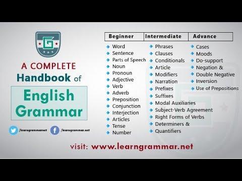 english grammar handbook app