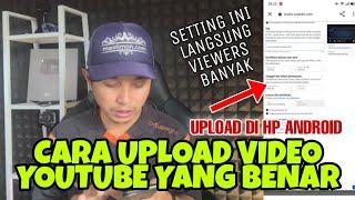 Cara upload Video ke Youtube di Android 2021