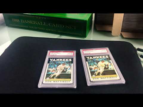 Topps Tiffany Versus Topps - What's The Difference?