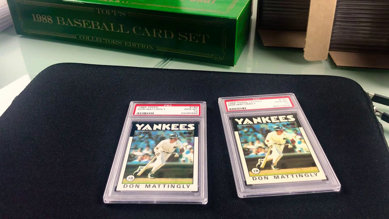 Topps Tiffany Versus Topps Whats The Difference