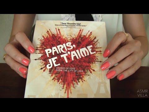 ASMR * Tapping & Scratching * Theme: Travel to PARIS, France * Fast Tapping * No Talking * ASMRVilla