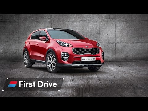 2016 Kia Sportage first drive review prototype
