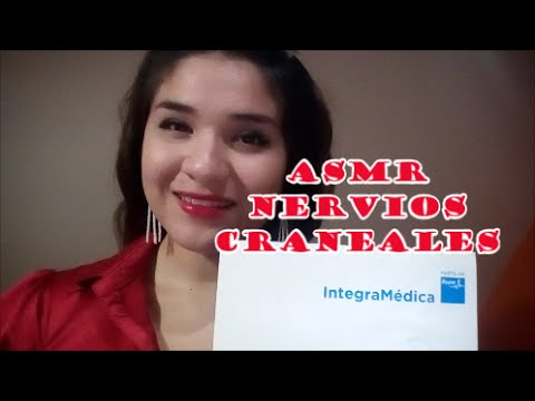 ASMR ROLEPLAY ESPAÑOL(spanish): Nervios Craneales (cranial nerve examination) Chile