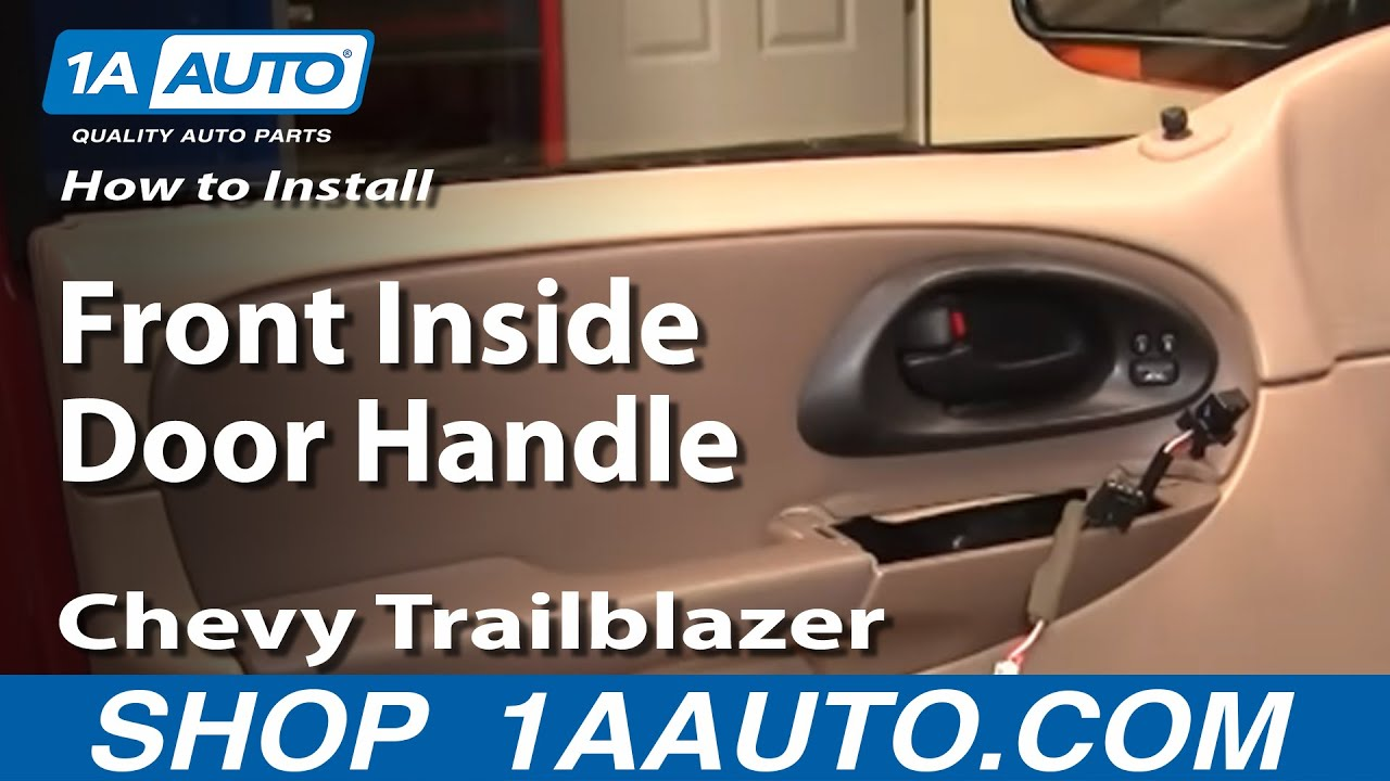 How To Install Repair Replace Front Inside Door Handle