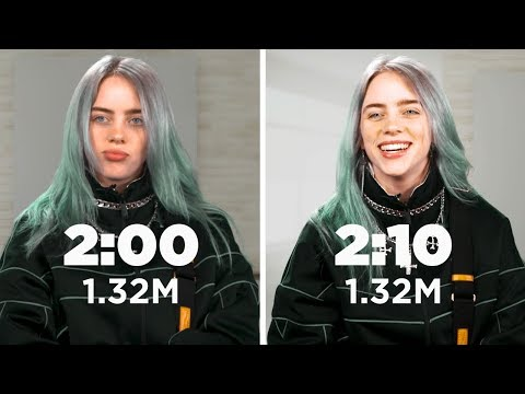 Billie Eilish: Same Interview, Ten Minutes Apart
